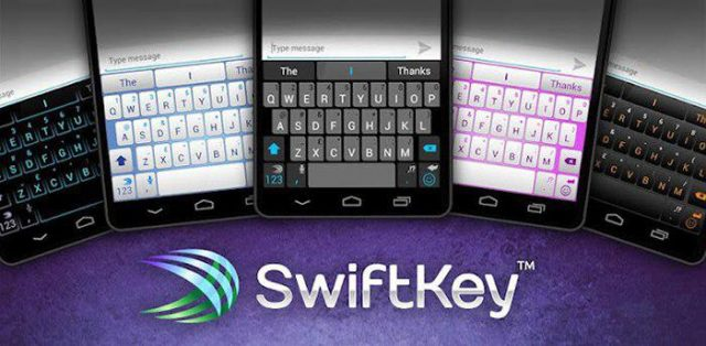 برنامه SwiftKey Keyboard